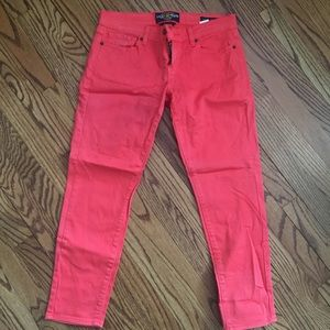 Lucky cropped jeans size 8